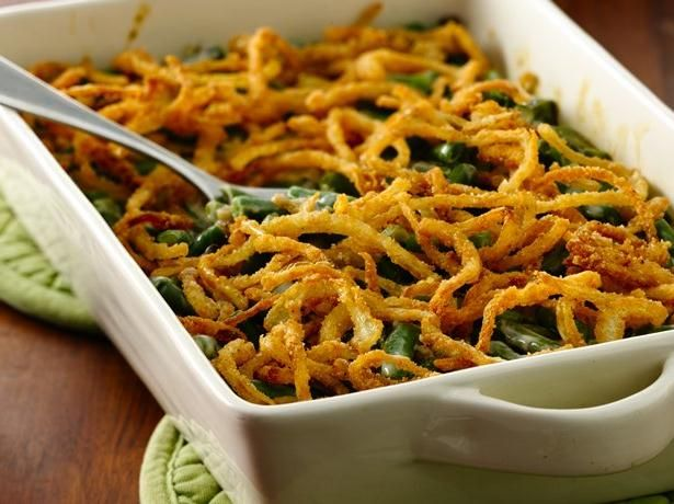 Gluten Free Green Bean Casserole with Fried Onions. With all the magic of Betty Crocker's gluten free mixes you can make your own fried onions!