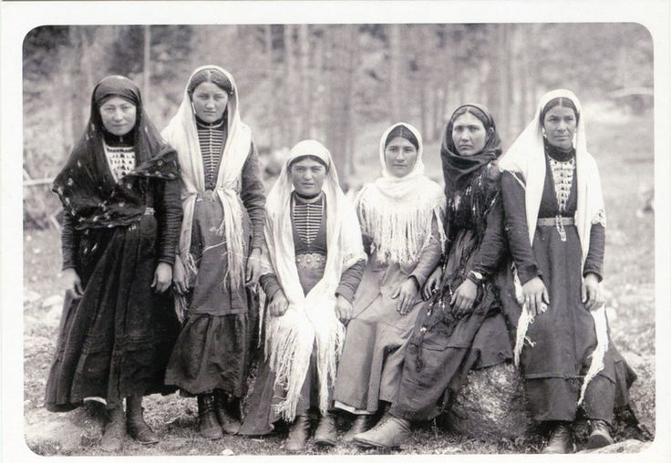Балкарки. Баксанское ущелье. Начало XX века.
