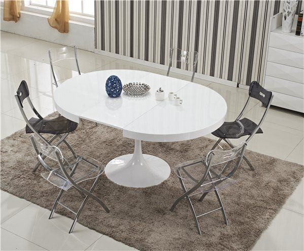 25 best ideas about table ronde extensible on pinterest for Table extensible victoria