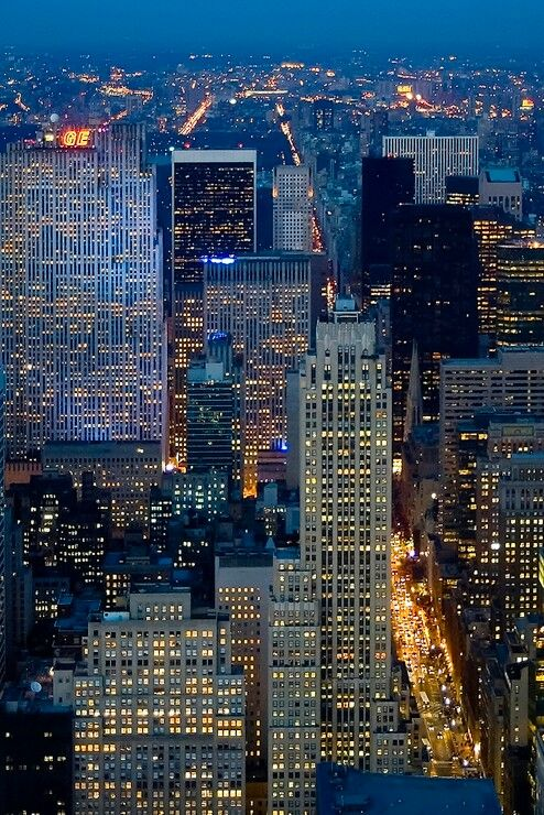 The city that never sleeps