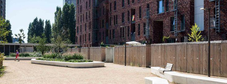 binnentuinen Manchesterlaan Antwerpen - OMGEVING