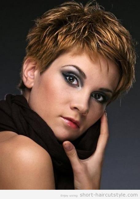 Sensational 255 Best Short Hair Styles Images On Pinterest Hairstyle For Hairstyle Inspiration Daily Dogsangcom