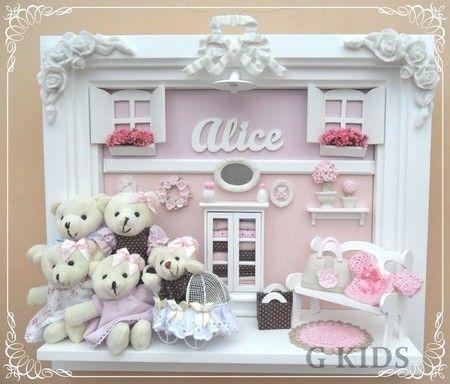 Porta Maternidade,enfeite de porta,decoração infantil, porta maternidade menina, decoração de quarto de bebê, porta maternidade Alice, enfeite de porta família, porta maternidade provençal, maternity door, nursery, baby room