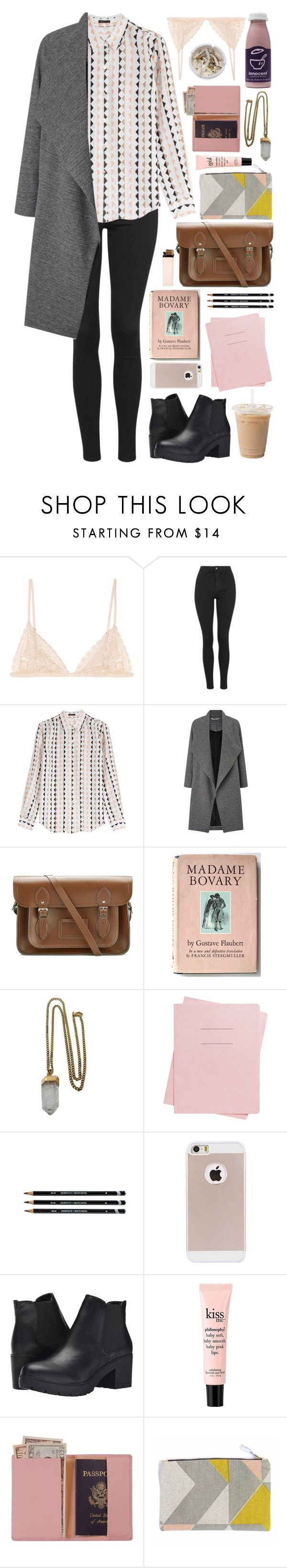 """220316"" by rosemarykate ❤ liked on Polyvore featuring Kiki de Montparnasse, Topshop, Theory, Miss Selfridge, The Cambridge Satchel Company, Lacey Ryan, Shinola, Steve Madden, Ash and philosophy"