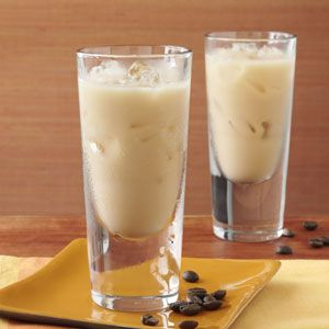 White Jamaican Recipe -A tropical twist on the classic white Russian, my easy-to-drink cocktail blends flavors of coffee, vanilla and coconut.—Mark Brown, Irvine, California