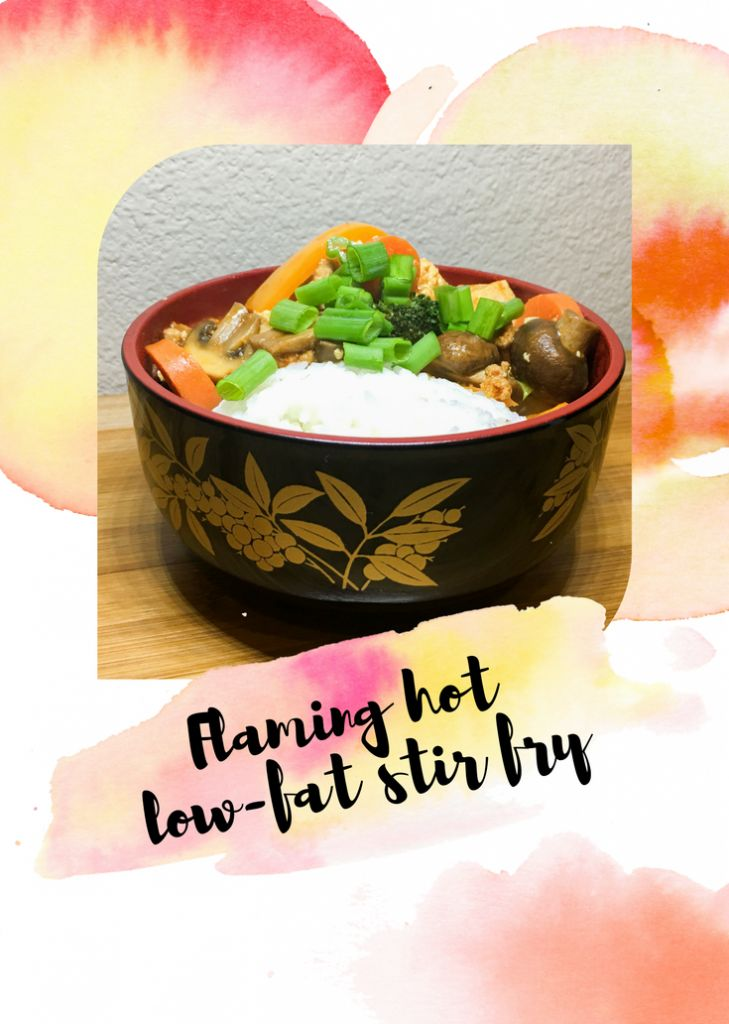 Flaming hot low-fat stir fry | complEATly