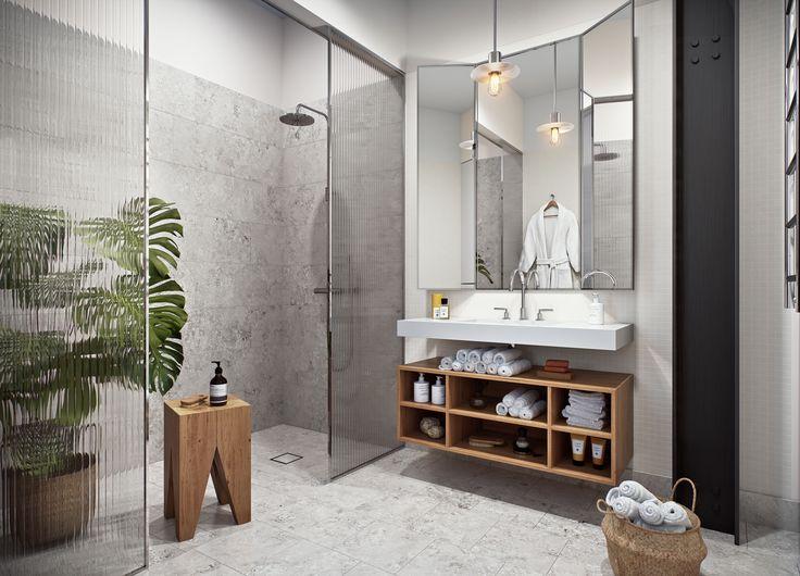 Oscar Properties  #oscarproperties stockholm - bathroom - flower - marble - mirror