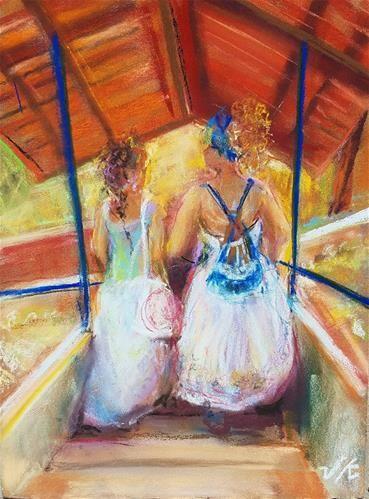 """Daily Paintworks - """"Mulheres doTrópico de Capricorn"""" - Original Fine Art for Sale - © jean krueger"""