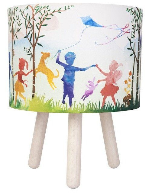 In The Woods Fabric Lamp