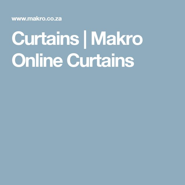 Curtains | Makro Online     Curtains