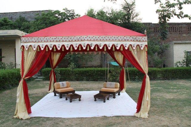 Indian raj tents