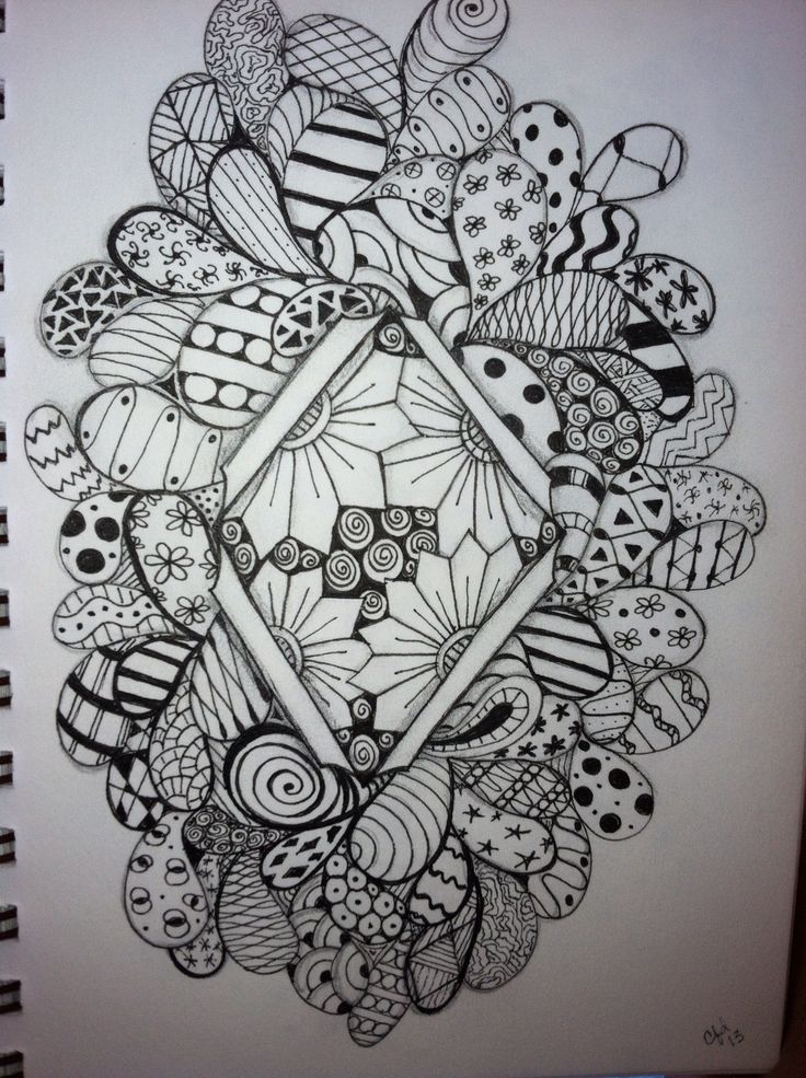 1000 images about zentangles on pinterest art deco for Tangle creations ebay