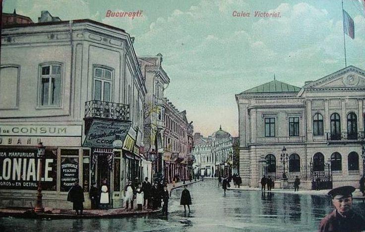 Calea Victoriei - vedere de la începutul secolului XX