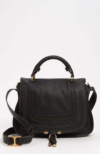 Chloé 'Marcie' Top Handle Leather Satchel