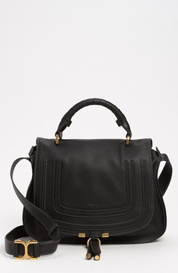 Chlo¨¦ \u0026#39;Marcie\u0026#39; Top Handle Leather Satchel available at #Nordstrom ...