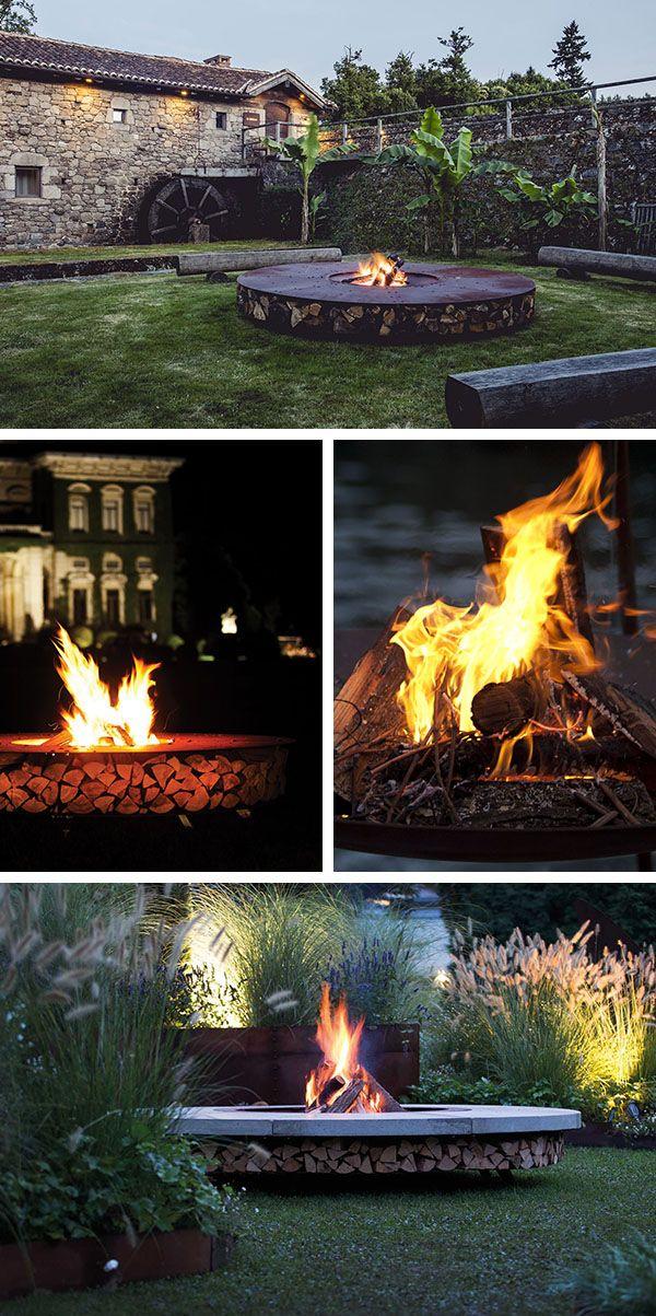 17 meilleures id es propos de brasero de jardin sur - Faire un feu de camp dans son jardin ...