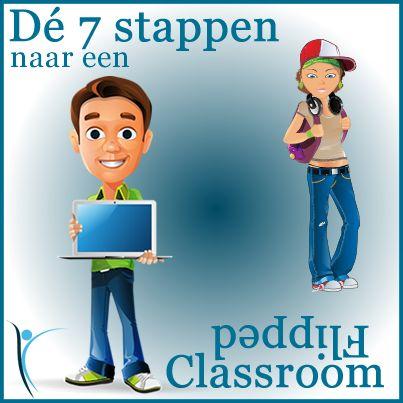 In een eerder artikel Flipping the Classroom, wat is het eigenlijk? heb ik uitgelegd wat 'Flipping the Classroom' is en wat de voor- en nadelen zijn. In dit artikel geef ik je 7 stappen om de 'Flipped Classroom' toe te passen in je klas. #Flippingtheclassroom