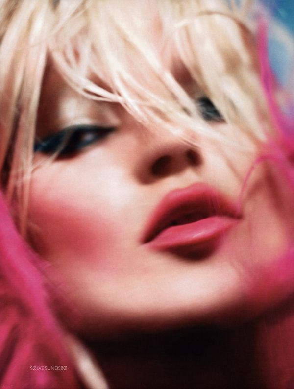 Solve Sundsbo + Kate Moss Vogue 2009 Photo