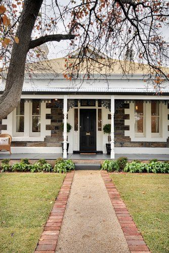 Colour schemes for bluestone frontages - Google Search