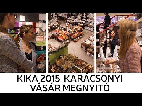 Kika Karácsonyi Vásár 2015 Megnyitó - YouTube
