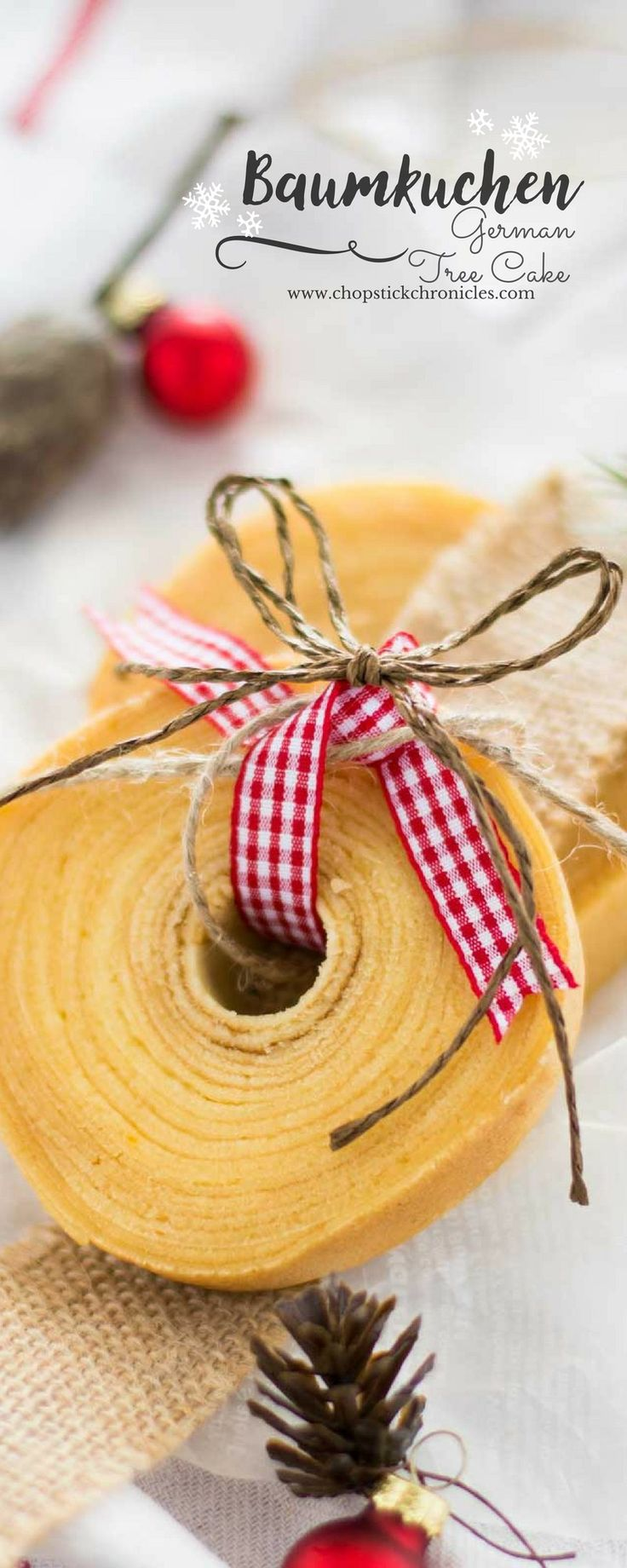 german-tree-cake-baumkuchen by Shihoko-San ... Alternative way to make this dessert without the traditional baking rods!
