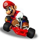 Mario takes a sharp corner in his kart from the official artwork set for #MarioKart64 on the #N64. #MarioKart #Mario #Nintendo64. Visit for more info http://www.superluigibros.com/mario-kart-64