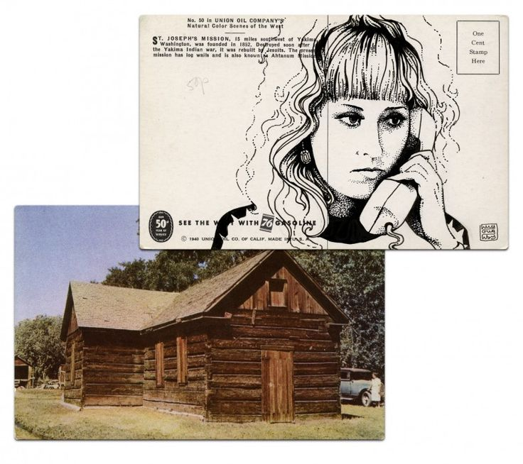 Twin Peaks postcard Paul Willoughby - Lucy