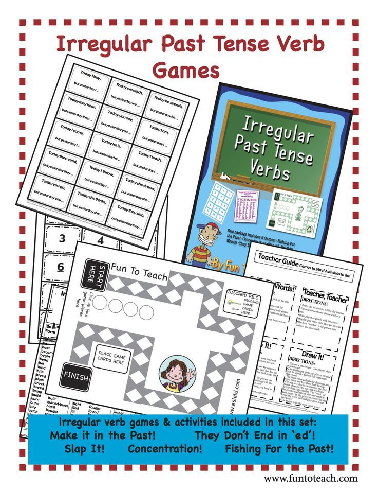 Learn English | Past Tense Game