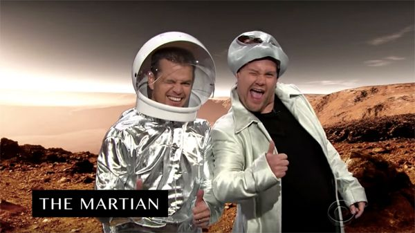 WATCH: Matt Damon Gives A Hilarious Run Down Of His Film Career In 8 Minutes On 'The Late Late Show With James Corden'