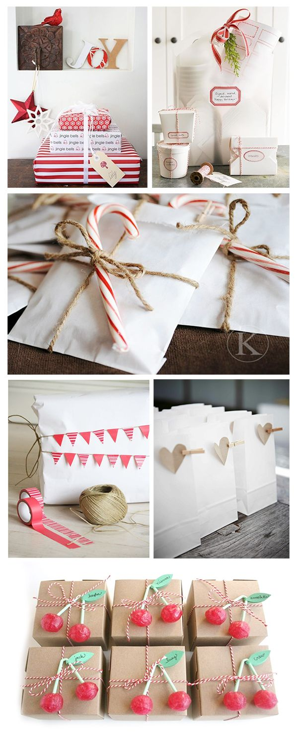 Creative gift wrapping ideas for festive presents