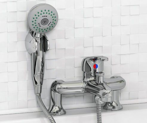Essential bath shower mixer tap taps basins amp toilets chrome deck mounted  thermostatic ebayBest 10  Bath shower mixer taps ideas on Pinterest   Bath shower  . Gold Bathroom Taps Ebay. Home Design Ideas