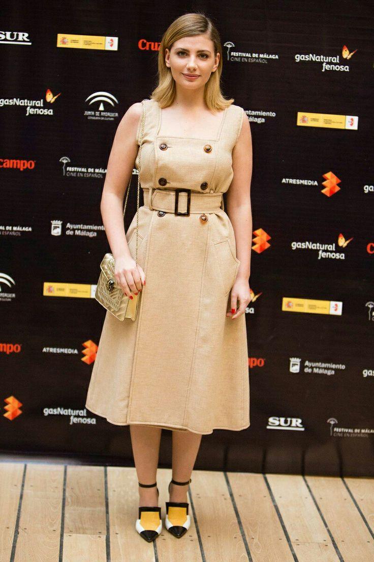 Festival cine malaga vogue.es camel outfit spring