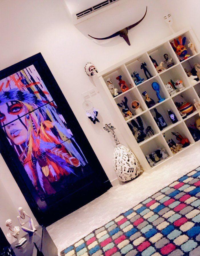 الوكر اعمالي فن رسم تصميم تحف ديكور رسوماتي مجسمات اعمال يدوية Art تح Photo Wall Home Decor Decor