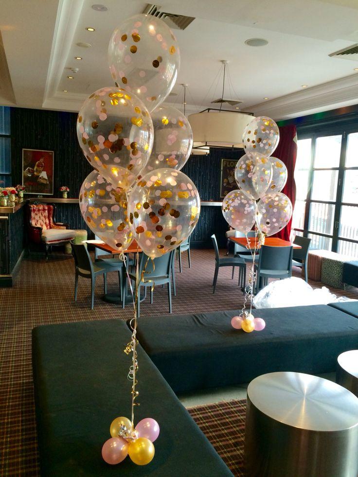 Best helium table arrangements images on pinterest