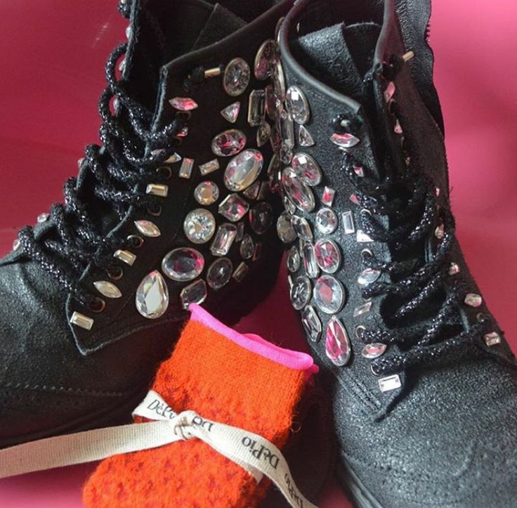 Brighten up your day with these gorgeous #2star boots!  www.2star.it  #high #boot #boots #black #stones #glitter #sparkling #shoe #shoes #style #fashion #amazing #beautiful #fall #winter #collection #woman #girl #instacool #instadaily