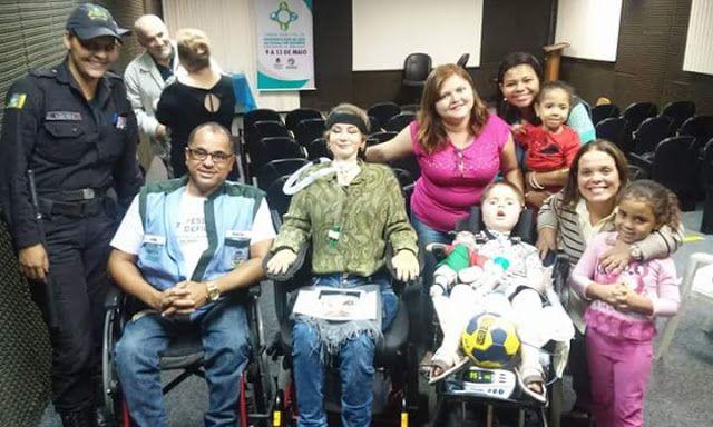 COMO TER UM MUNDO MELHOR: RJ: RJ: Superação é tema no encerramento da Semana de Conscientização de Luta da Pessoa com Deficiência de Mesquita