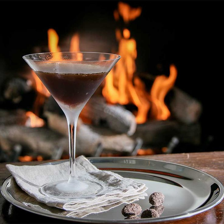 This decadent chocolate martini is amazingly simple to make and just plain delicious. All you need is Godiva Dark Chocolate liqueur, Van Gogh Chocolate Vodka, a cocktail shaker, ice and a martini glass.