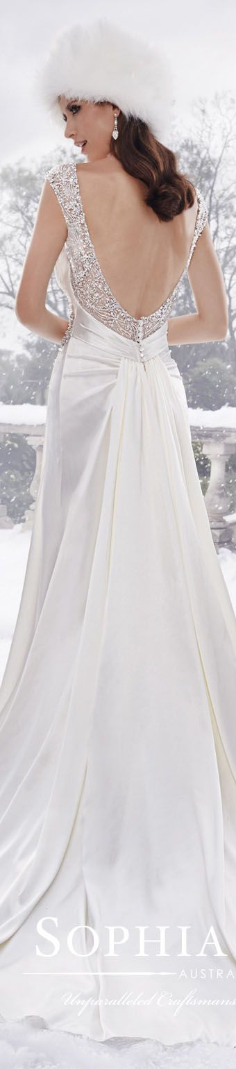 Sophia Tolli #wedding #dress / Fall 2015 collection
