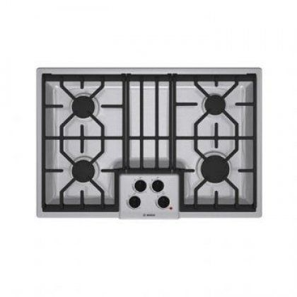 limited supply click image above 300 series gas cooktop stainless steel