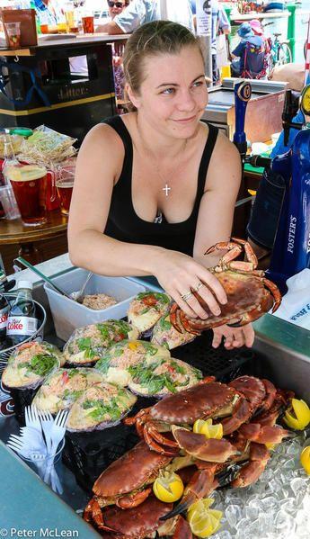 Weymouth Seafood festival, England