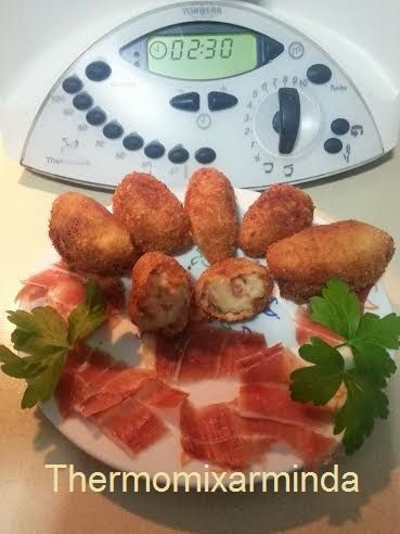 Recetas para tu Thermomix - desde Canarias: Croquetas de jamón ibérico
