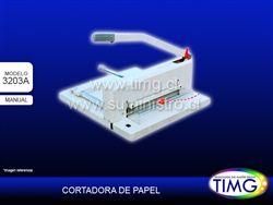 Cortador manual 3203a tamaño A3 con luz laser guia, guillotina multiproposito http://www.suministro.cl/product_p/tbw-3203a.htm