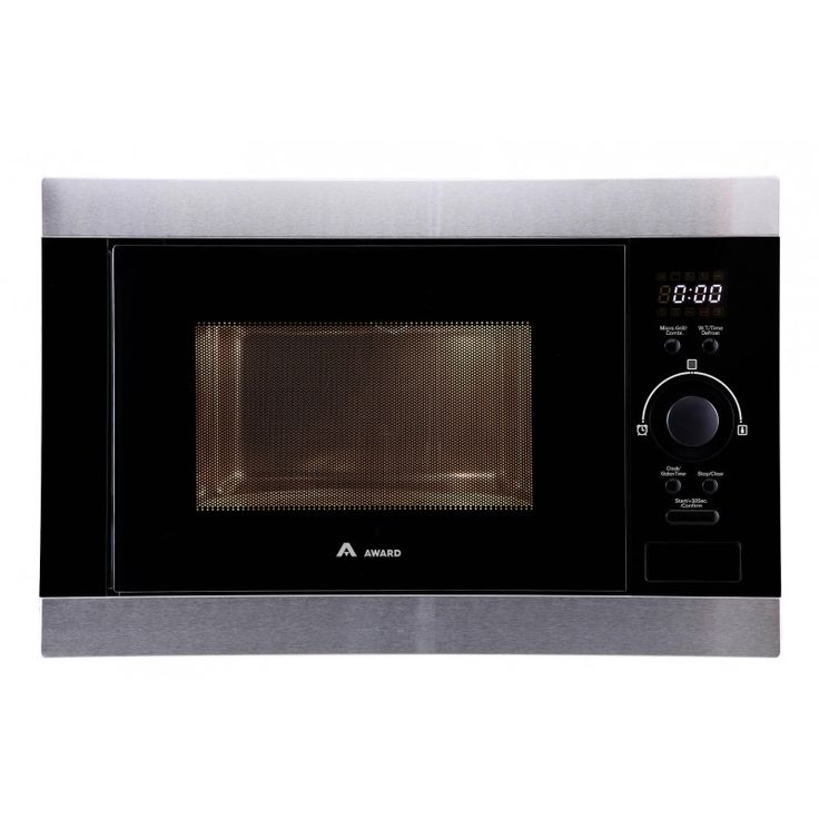 30L Microwave Oven & Grill - Built-In by Award MWOBI30S   Features:  30L Capacity 315mm Turntable Digital Control with LED Display Speed Cook 8 Automatic Menu Options Stainless Steel Interior Child Lock for Controls