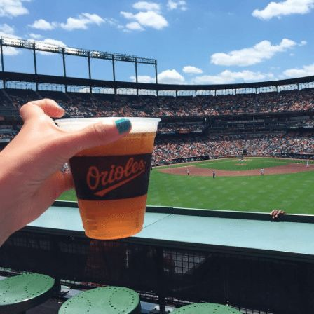 Orioles Game at Camden Yards | The Instagrammers Guide To Baltimore's Best Photo-Ops | Where To Get The Best Photos In Baltimore | Baltimore's Most Photogenic Places To Visit