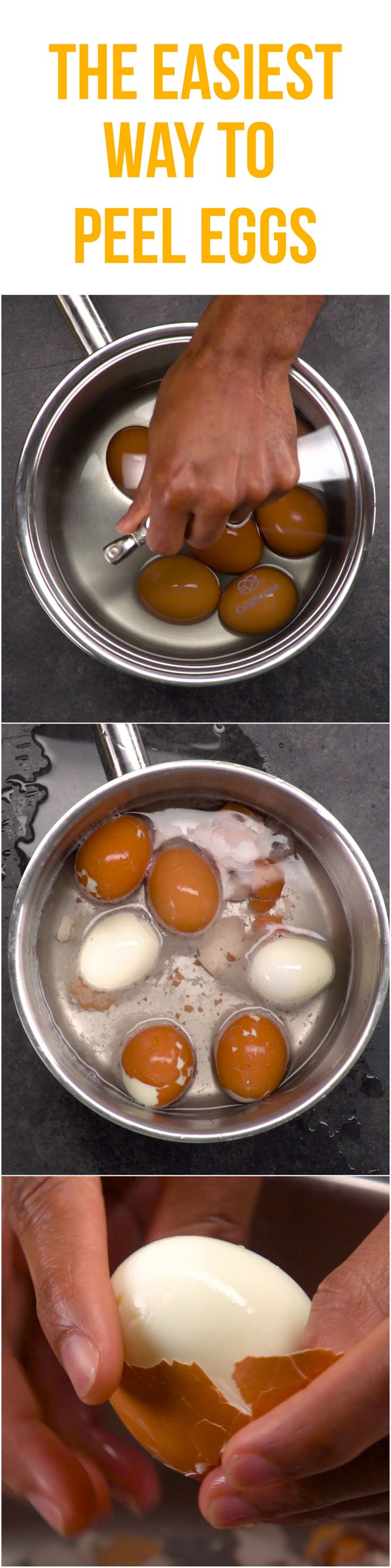 This life-changing tip makes peeling a bunch of boiled eggs eggstraordinarily easy.
