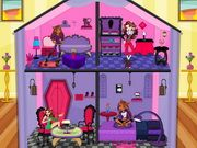 Doll house decorating barbie games