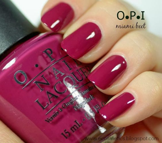 Esmalte para #uñas #nails #OPI #Laquer #Magenta #NailPolish
