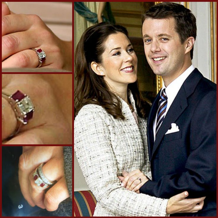 Engagement Ring Of Crown Princess Mary Of Denmark