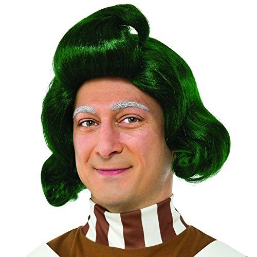 Men's Willy Wonka and the Chocolate Factory Oompa Loompa Wig