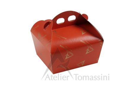 Scatola Impilabile Colore: Dark Orange Stampa: Flexo Continua Oro #packaging #ateliertomassini #portatorte #pasticceria #scatola #pastry #bakery #design #politenata #politenate #imballaggio #bakery #PE-protect